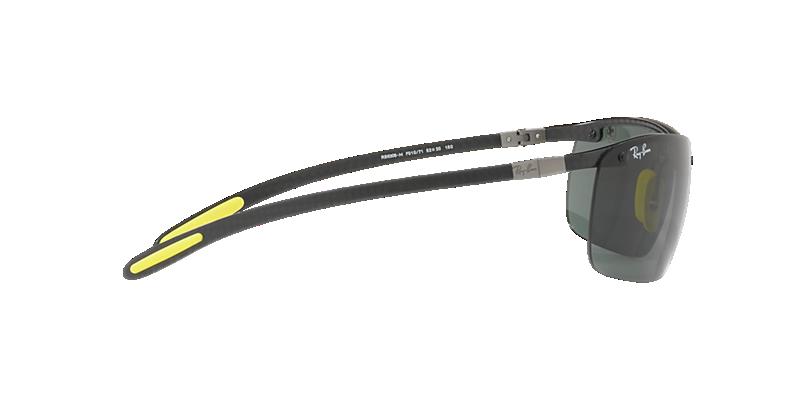 fef01e9d90a71b Ray-Ban RB8305M 64 Green Classic   Black Sunglasses   Sunglass Hut ...