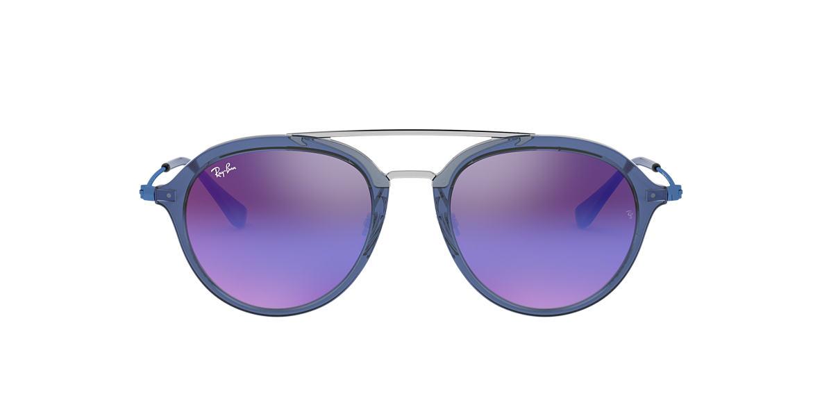 Blue RJ9065S Blue/Violet Gradient Mirror  48