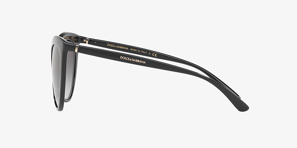 ef0e8467e7f9 Dolce & Gabbana DG6113 55 Grey-Black & Black Sunglasses   Sunglass ...