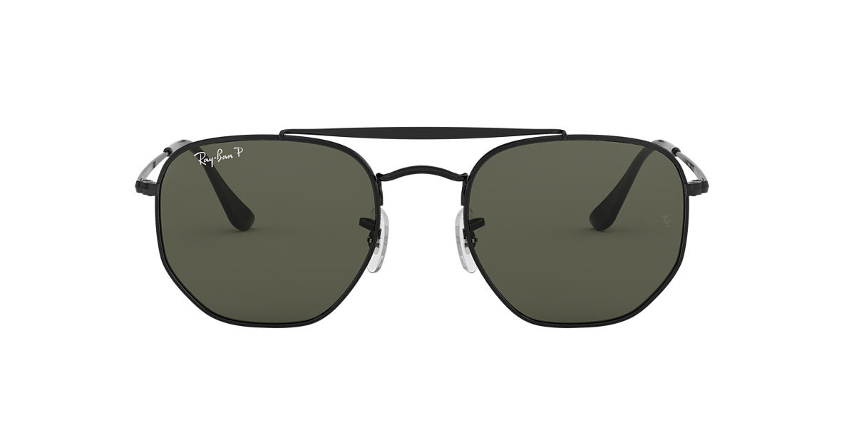 20d504cac0 RAY-BAN Black RB3648 Polarized Green Classic G-15 polarised lenses 54mm