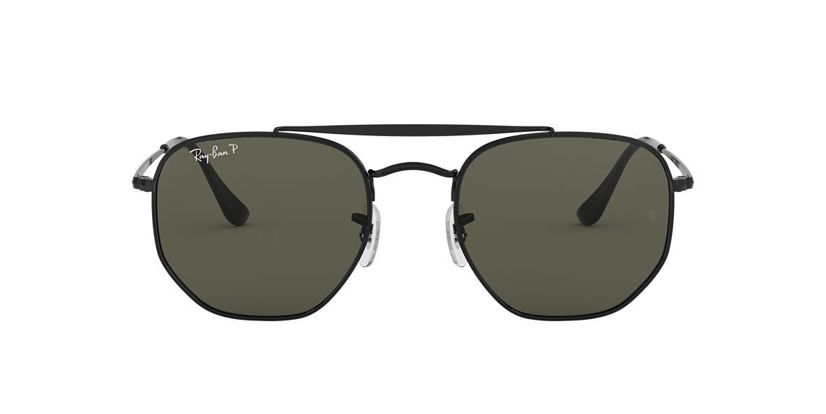 5de02f975b RAY-BAN Black RB3648 Polarized Green Classic G-15 polarized lenses 54mm