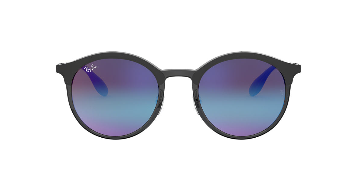 74f90a9bba Ray-Ban RB4277 51 Blue Violet Gradient Mirror   Grey Sunglasses ...