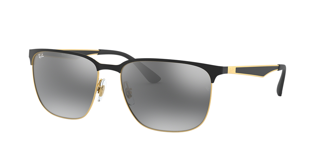 8c1f97aee4b3 Ray-Ban RB3569 59 Grey Gradient Mirror   Black Sunglasses