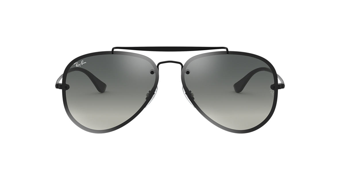 Black RB3584N BLAZE AVIATOR Grey-Black  58