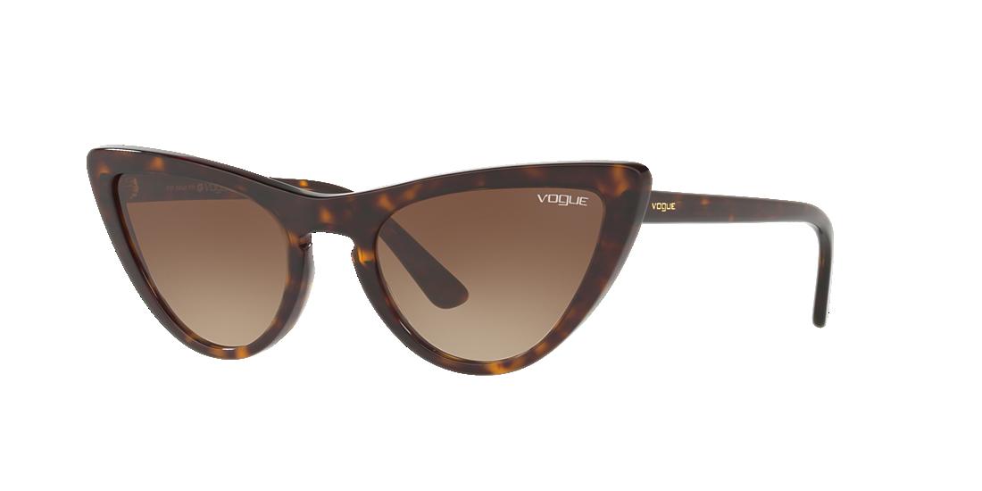 Vogue VO5211S 54 Brown   Tortoise Sunglasses   Sunglass Hut USA 337c9ad914