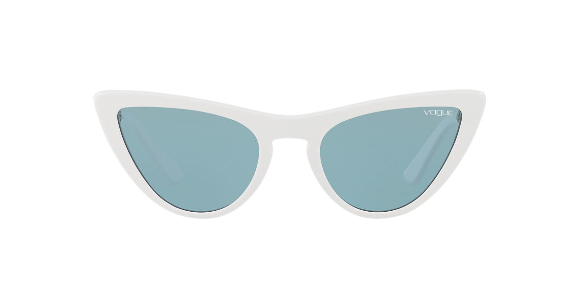 White VO5211S Gigi Hadid x Vogue Eyewear Blue  54