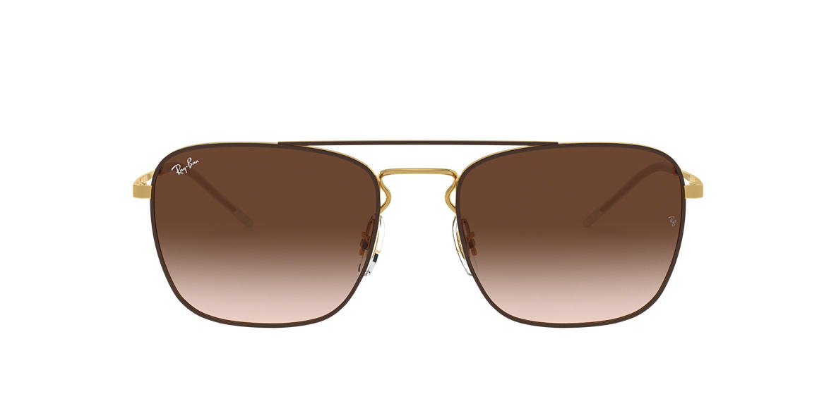 c08c89dd84e Ray-Ban RB3588 55 Brown Gradient   Brown Sunglasses