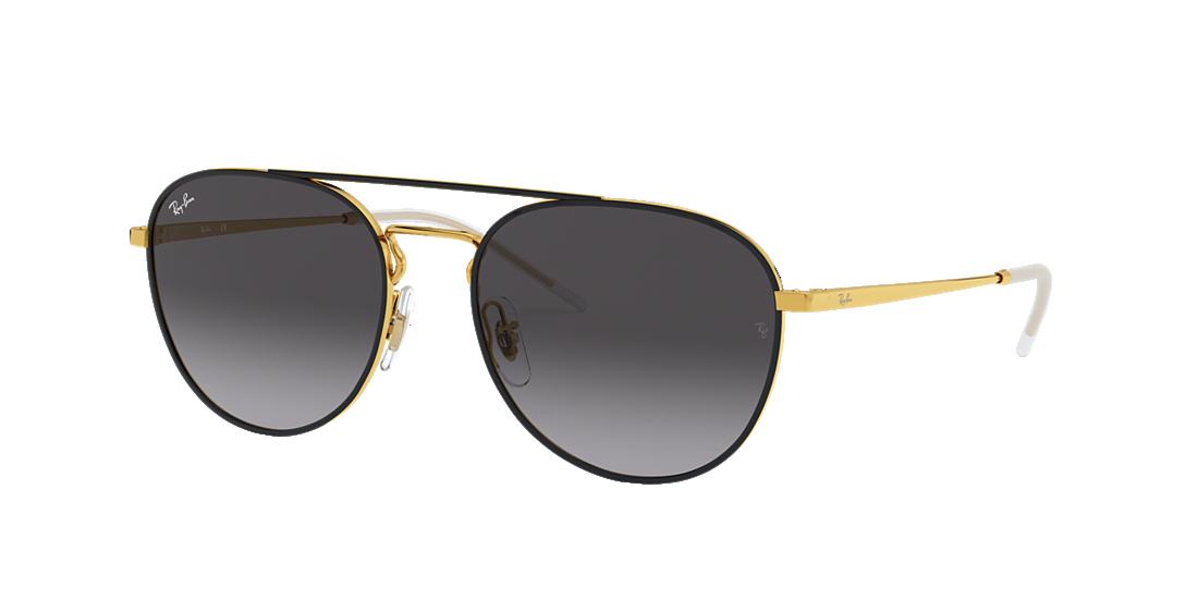 970772809a0 Ray-Ban RB3589 55 Grey Gradient   Black Sunglasses