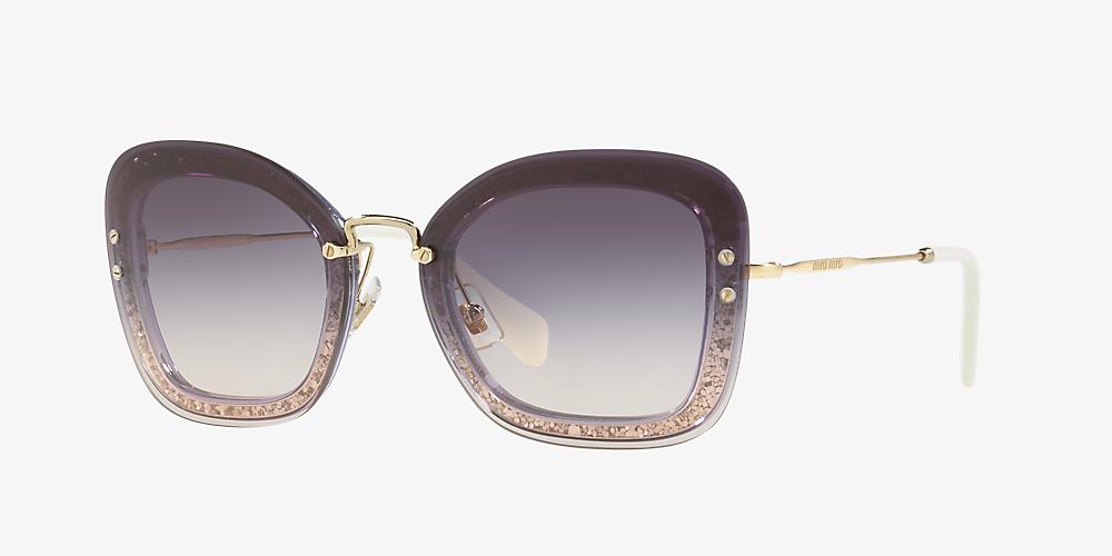 05ccf24cf Miu Miu MU 02TS 65 Violet & Violet Sunglasses   Sunglass Hut Canada
