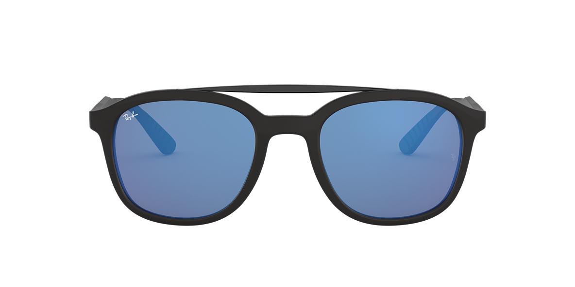 Black RB4290 Blue Mirror  53