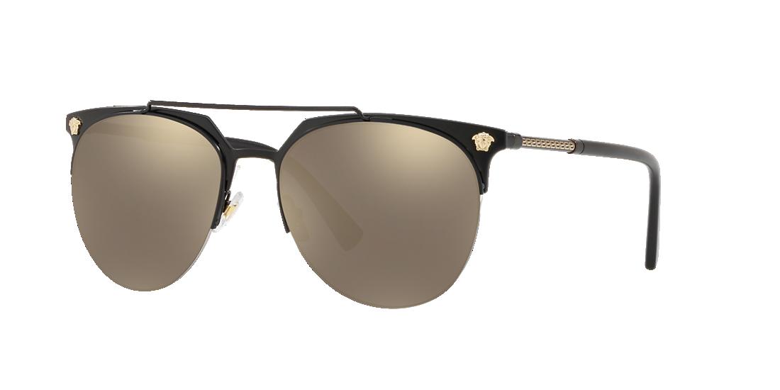 f608a0aa7fffc Versace VE2181 57 Gold   Black Matte Sunglasses