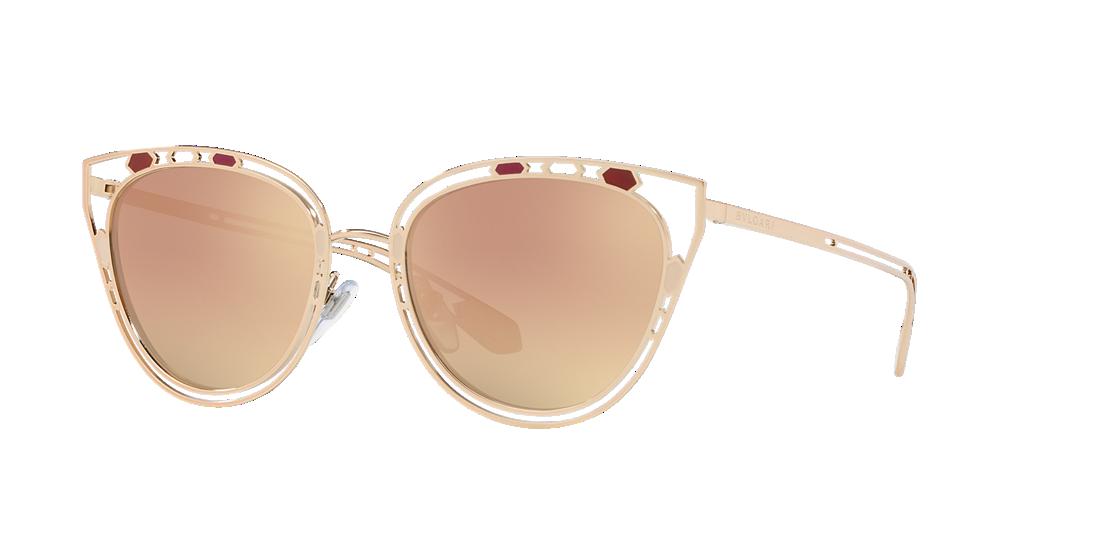 42c0d1c6cc3 Bvlgari BV6104 54 Gold   Gold Sunglasses