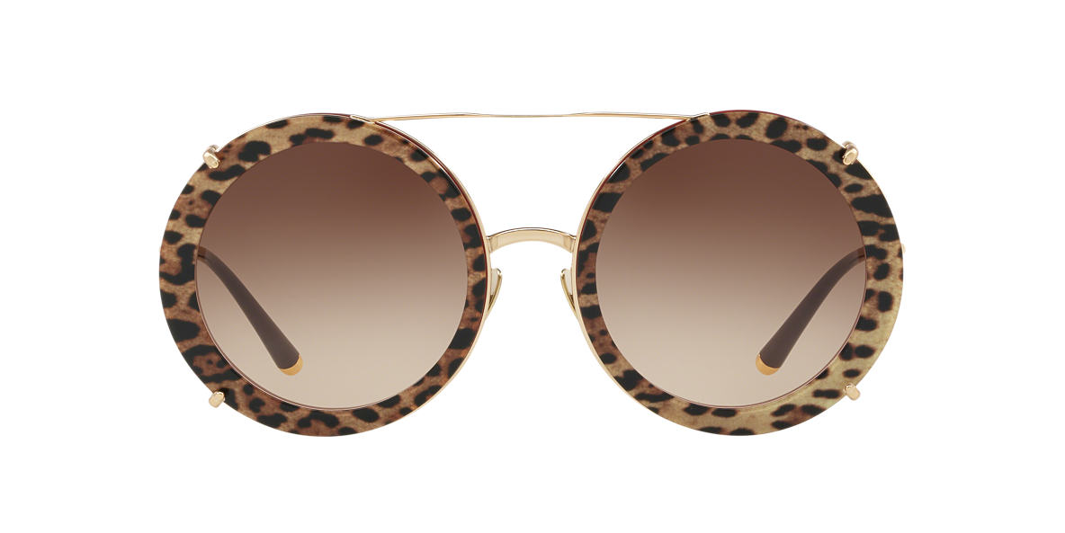 8769eb6e91 Dolce   Gabbana DG2198 63 Brown   null Sunglasses