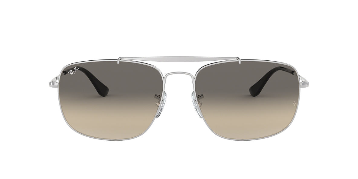 6cf3602389d3 Ray-Ban RB3560 61 Light Grey Gradient   Silver Sunglasses