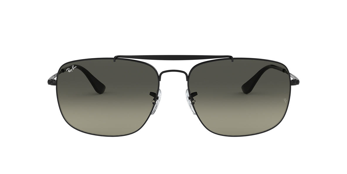 b5be04d676a0 Ray-Ban RB3560 61 Grey Gradient   Black Sunglasses