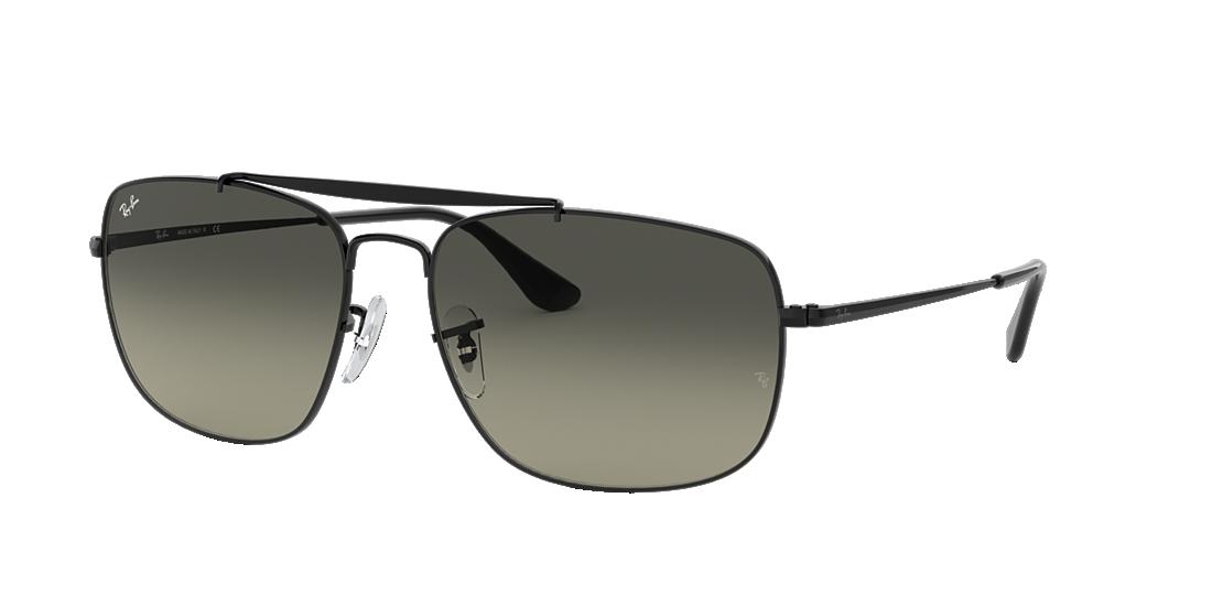348a8d4943 Ray-Ban RB3560 61 Grey Gradient   Black Sunglasses