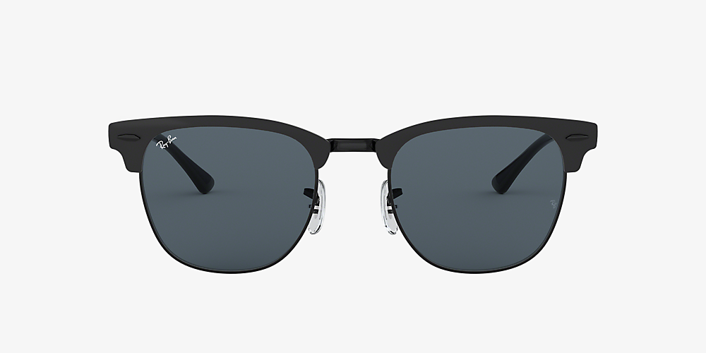 ray ban clubmaster metal black