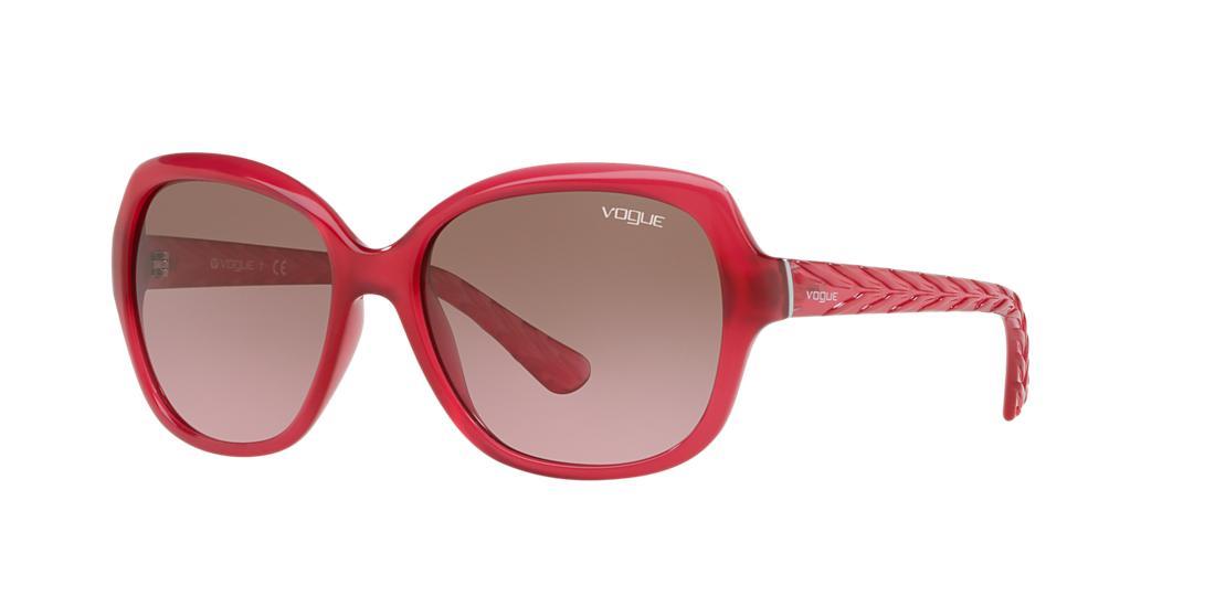 Vogue VOGUE VO2871S 56 PINK SQUARE SUNGLASSES