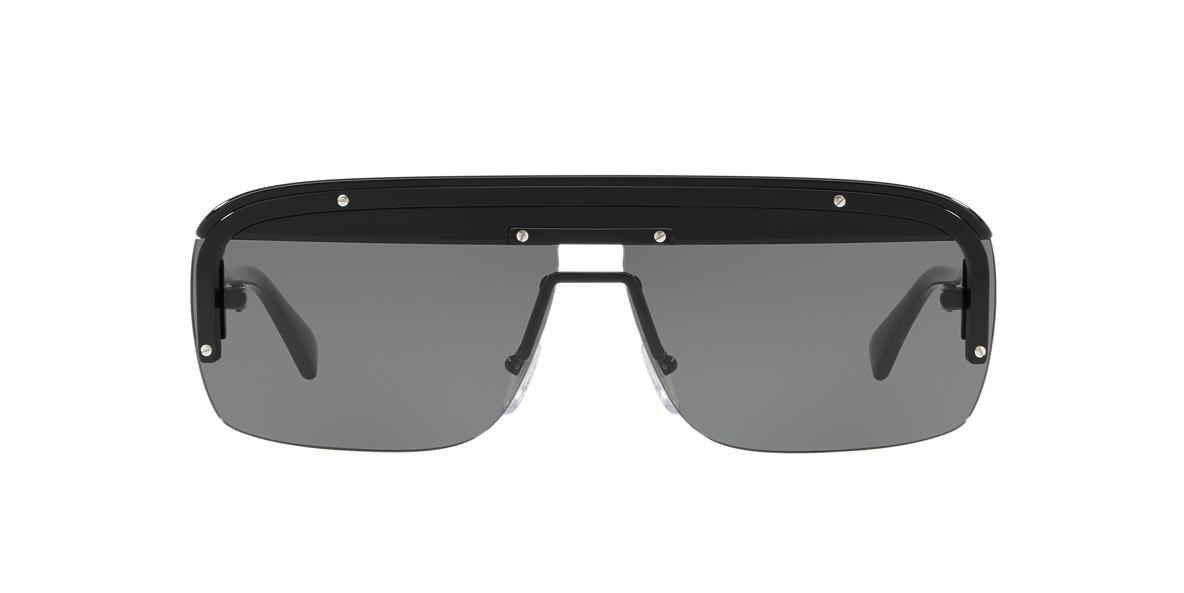 26f69cd3e88a Prada PR15US 01 Grey-Black   Black Sunglasses