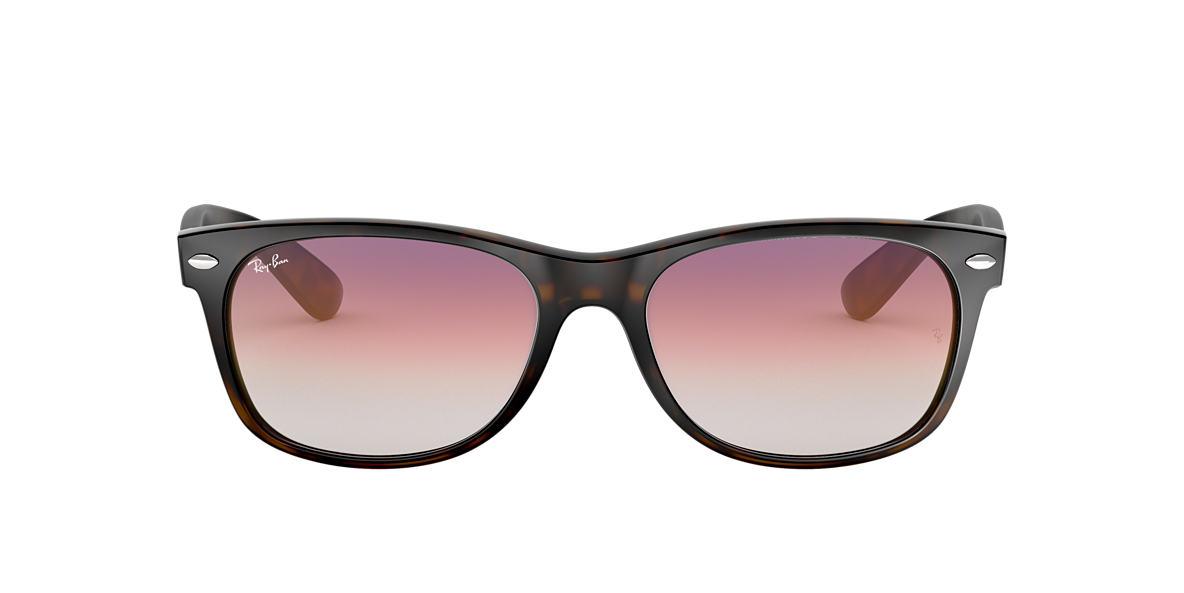 0d0eafdbef Ray-Ban RB2132 52 Violet Gradient   Tortoise Sunglasses