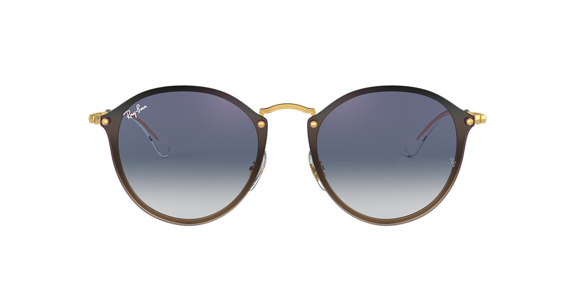 eff5e1db1 Ray-Ban RB3574N 59 Blue Gradient Mirror & Gold Sunglasses | Sunglass ...