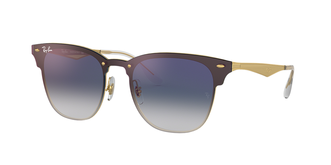 d1d52c9d1b Ray-Ban RB3576N 01 Blue Gradient Mirror   Gold Sunglasses