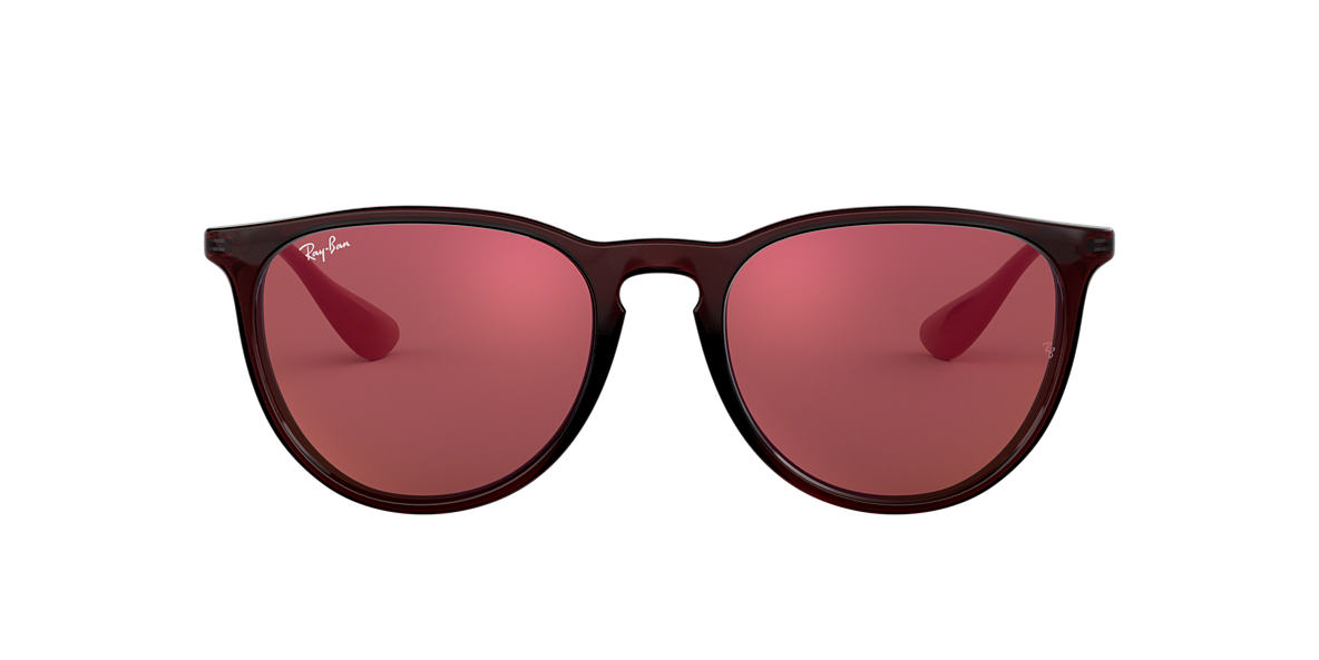 f45cfbc2b5d1b Ray-Ban RB4171 ERIKA COLOR MIX 54 Red   Brown Sunglasses