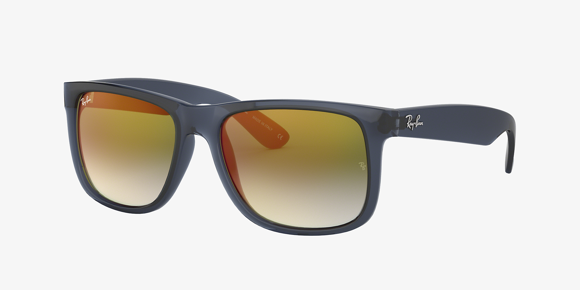 Ray-Ban RB4165 JUSTIN FLASH GRADIENT LENSES Blue/Green image 1