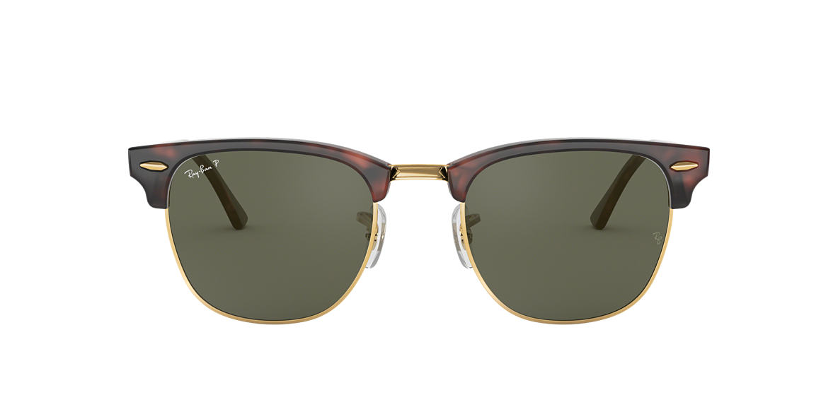d2af795223 RAY-BAN Tortoise RB3016F Polarized Green Classic G-15 polarised lenses 55mm