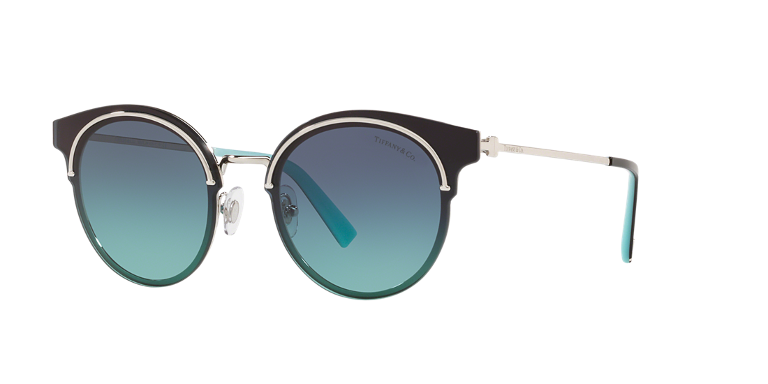 5f47df059fc Tiffany TF3061 64 Blue   Silver Sunglasses