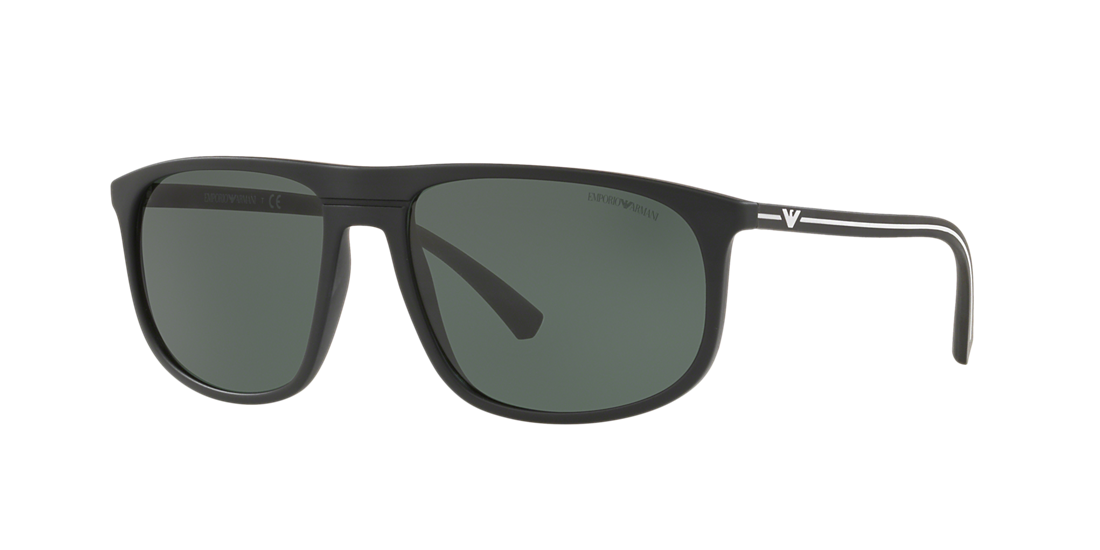 770541509f82 Emporio Armani EA4118 59 Green   Black Sunglasses