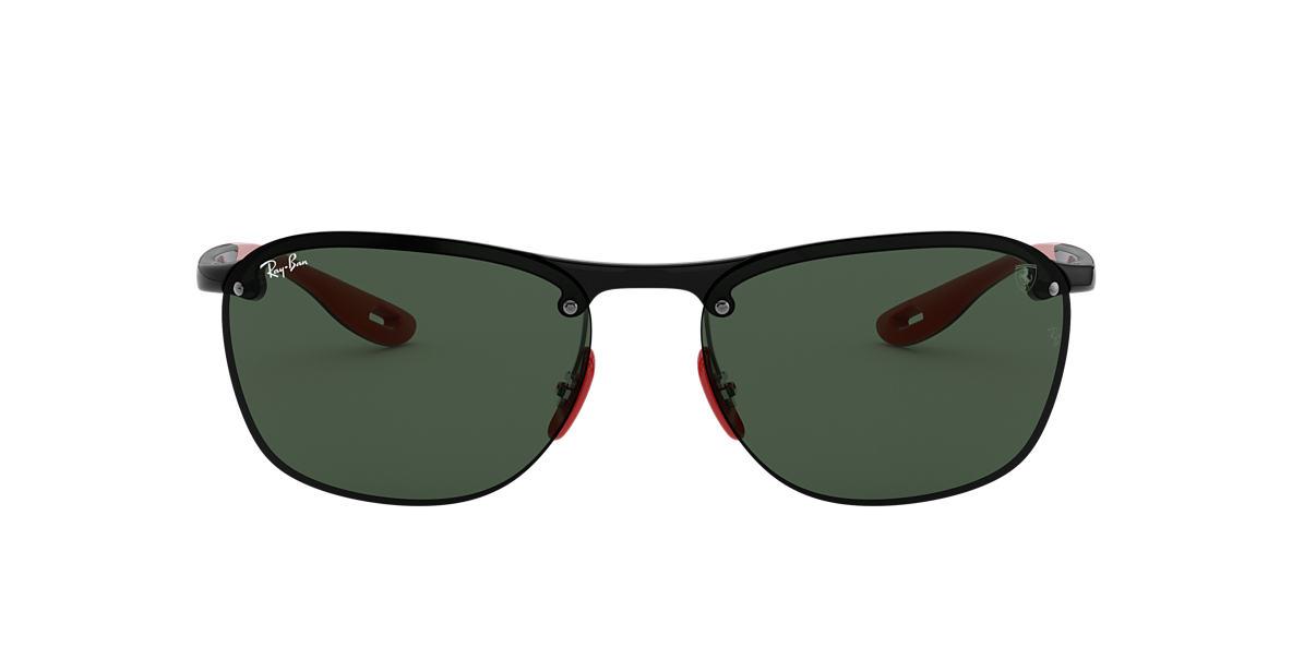 Black RB4302M SCUDERIA FERRARI COLLECTION Green  62