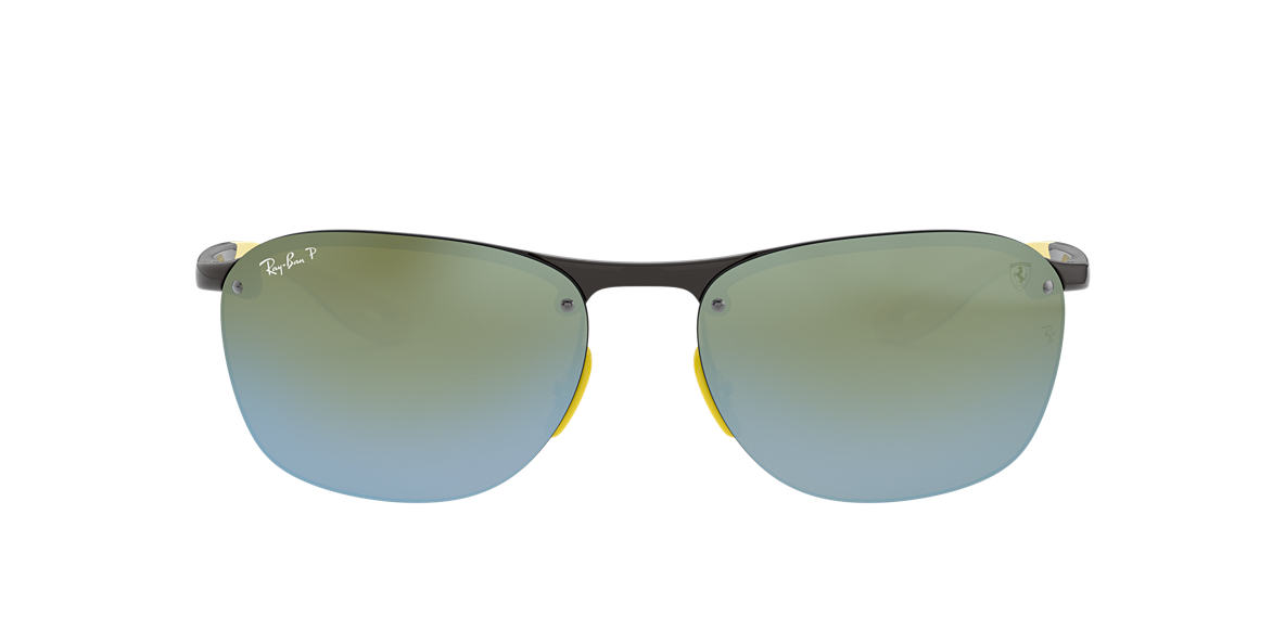 Grey RB4302M Silver Mirror Chromance Polarized  62