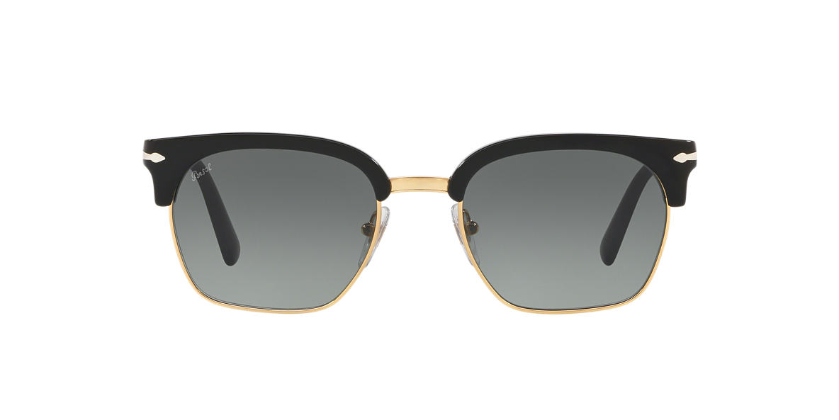 df23c04c3ce1b Persol PO3199S 53 Grey-Black   Black Sunglasses