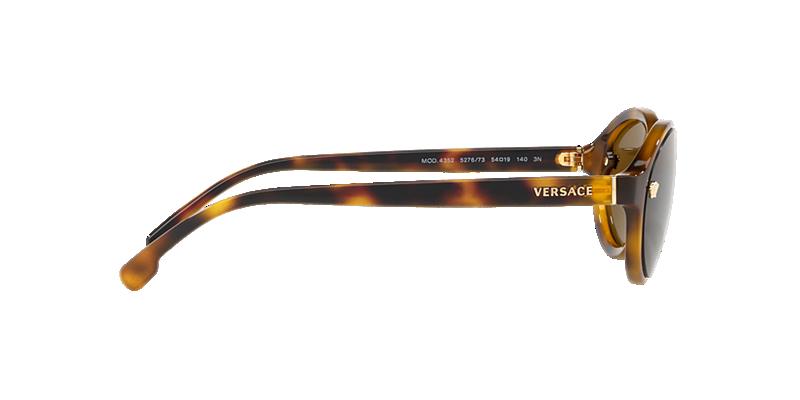 3ff2a2ab7f2c2 Versace VE4352 54 Brown   Tortoise Sunglasses