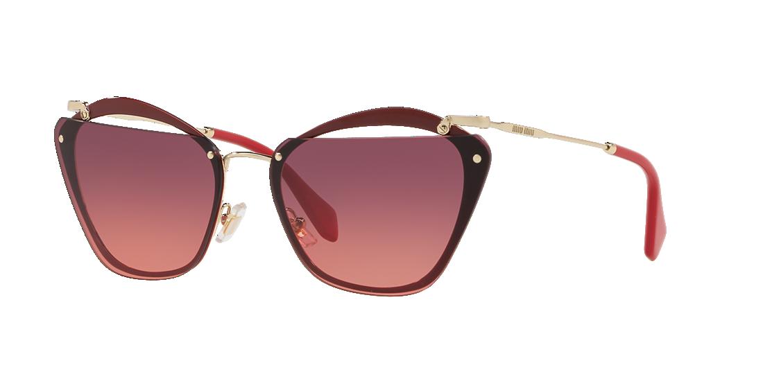 Miu Miu MU54TS 64 Violet   Bordeaux Sunglasses   Sunglass Hut USA b9d28f9a82
