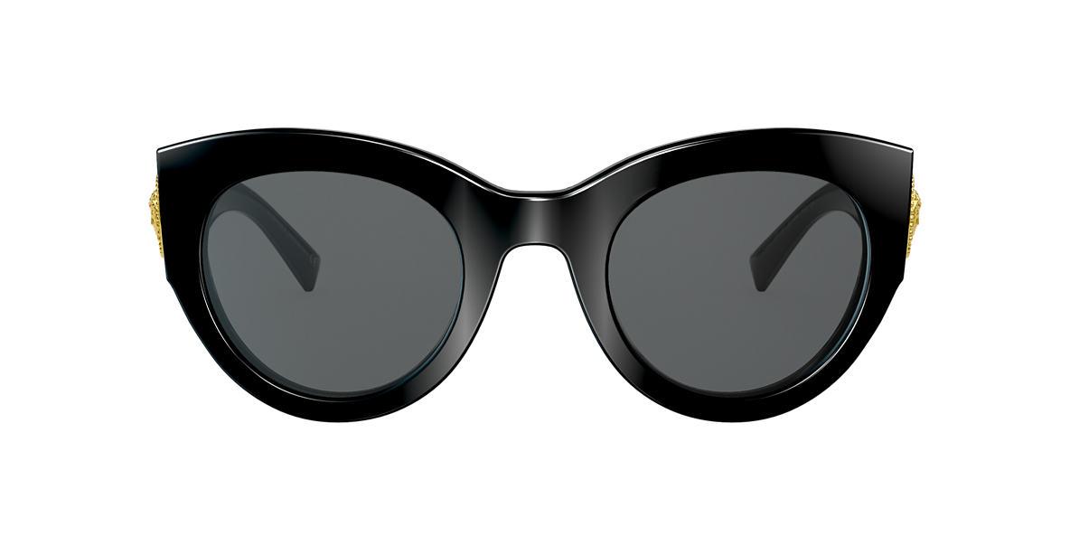 080eef06e2d Versace VE4353 Grey-Black   Black Sunglasses