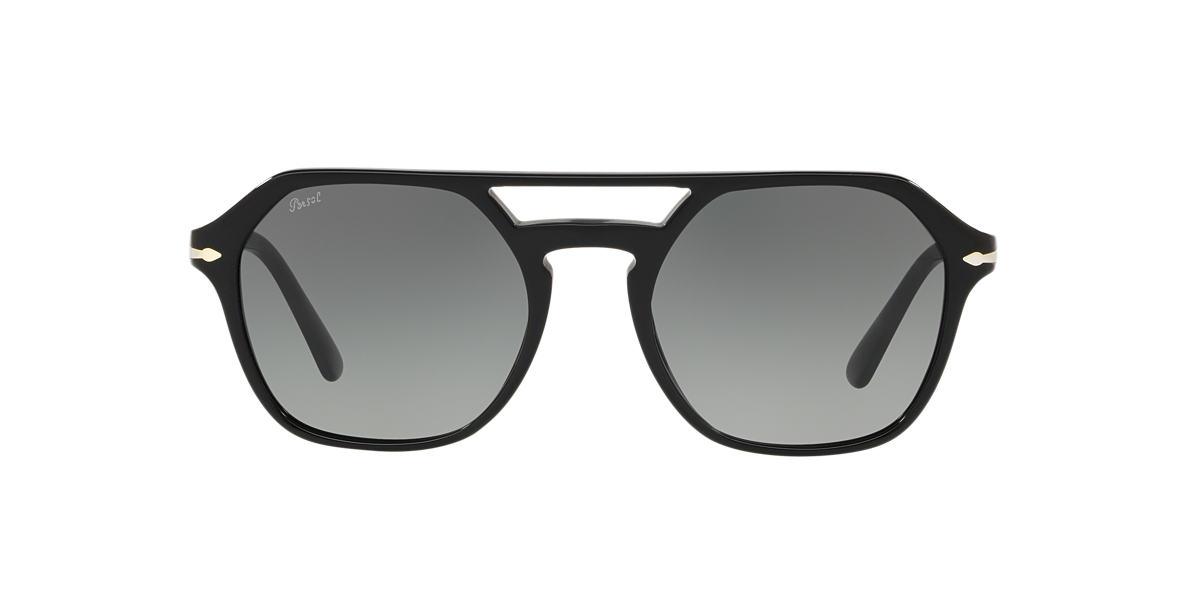 Black PO3206S Grey-Black  54