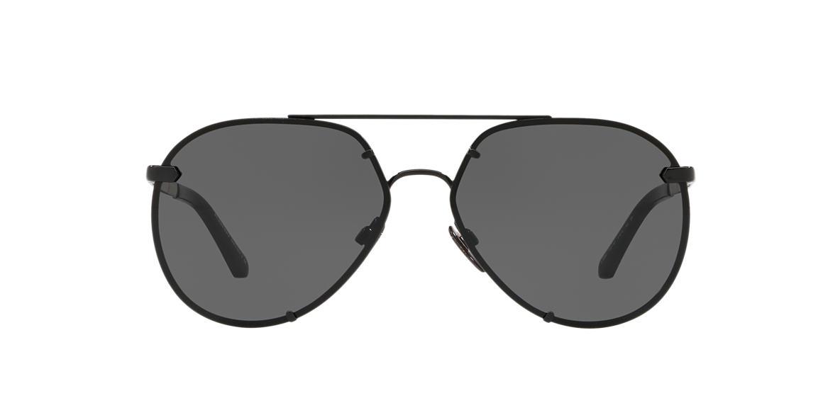 8a0480e5b4 Burberry BE3099 61 Grey-Black   Black Sunglasses