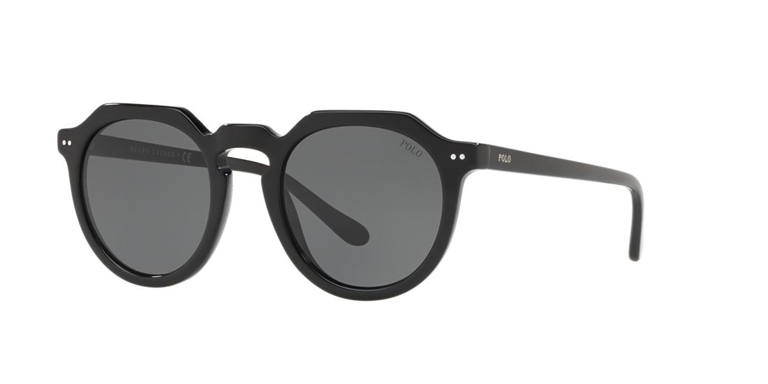 Polo Ralph Lauren 49 Black Panthos Sunglasses - ph4138