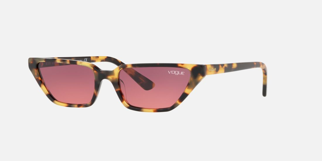 1009dad83951ac Vogue Eyewear VO5235S 53 53 Violet   Marron Lunettes de soleil ...