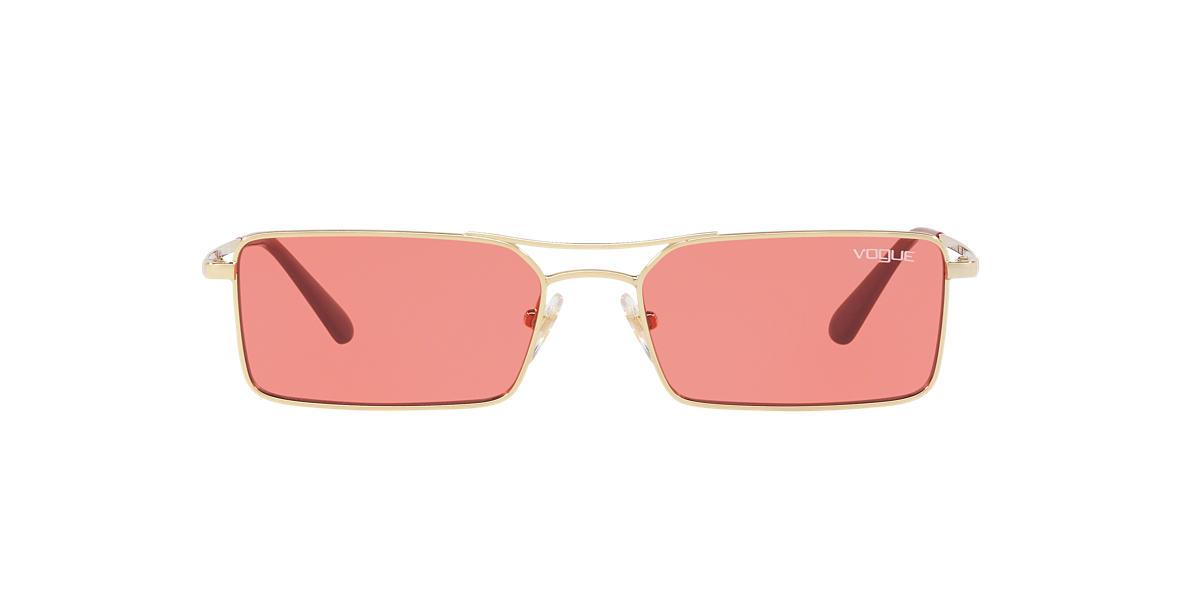 Gold VO4106S Gigi Hadid x Vogue Eyewear Pink  55