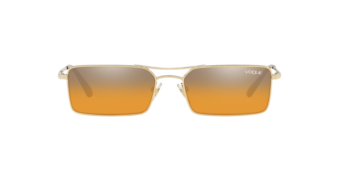 Gold VO4106S Gigi Hadid x Vogue Eyewear Orange  55