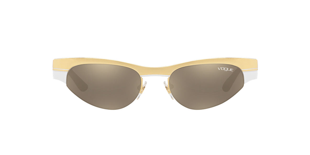 Gold VO4105S Gigi Hadid x Vogue Eyewear Brown  51