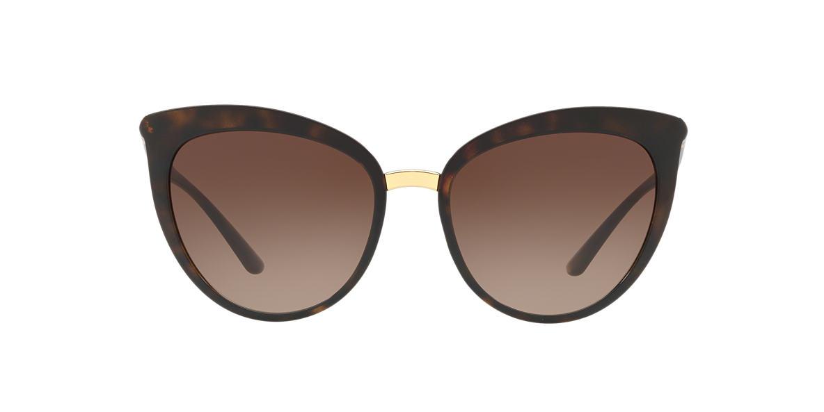 bc9d1f8a7afb1 Dolce   Gabbana DG6113 55 Brown   Tortoise Sunglasses