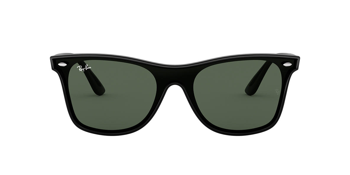 Black RB4440N BLAZE WAYFARER Green  01