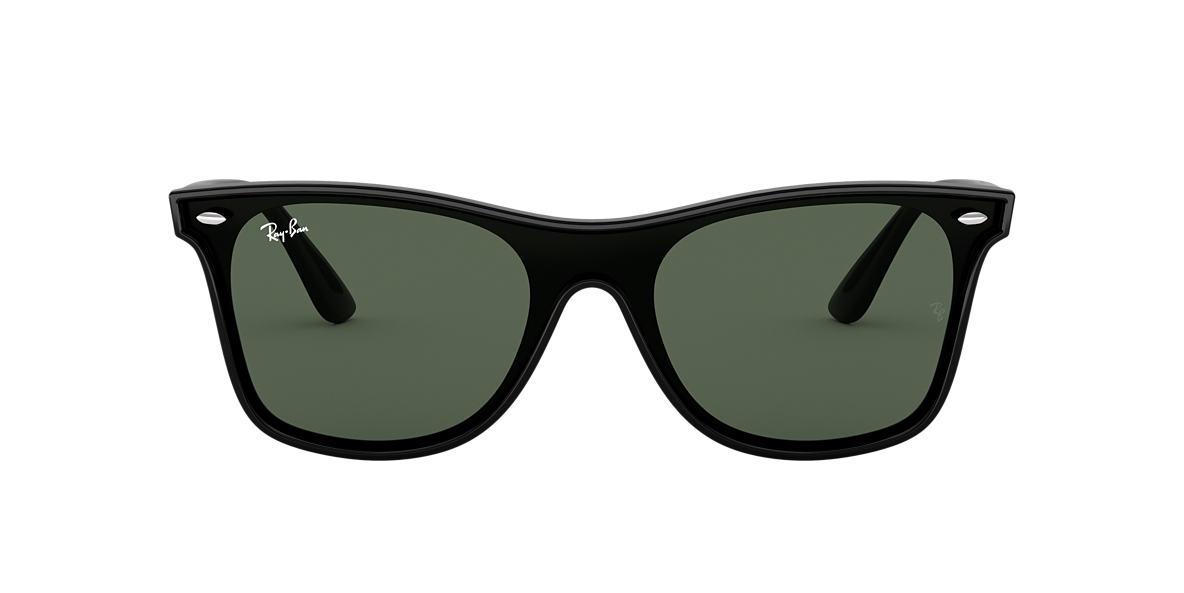 f3014a02148 Ray-Ban RB4440N BLAZE WAYFARER 01 Green Classic   Black Sunglasses ...