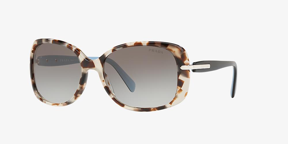 06a64e2145c8ce Prada PR08OS 57 Grey-Black und Havana Sonnenbrillen | Sunglass Hut ...