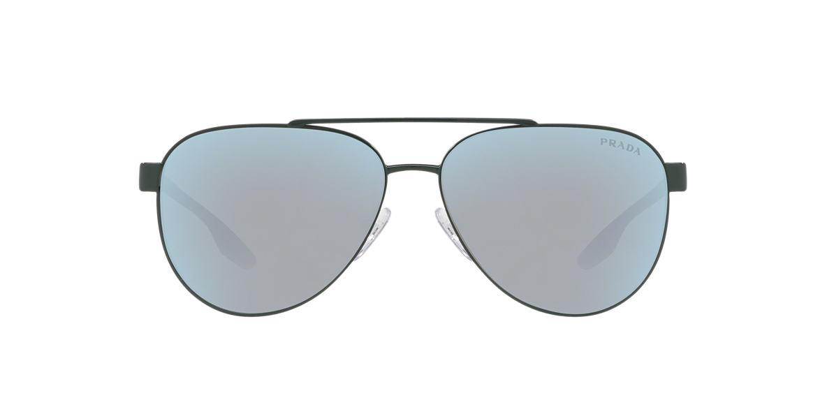 177328bdc5854 Prada Linea Rossa PS54TS 58 Blue   Green Sunglasses