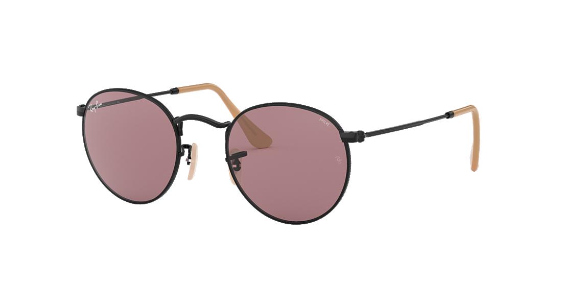 2083669f971 Ray-Ban RB3447 50 Purple Photocromic   Black Sunglasses